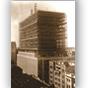 <p>Edifício Sede do Banrisul, localizado na Rua Capitão Montanha, em construção, no início da década de 60.</p>