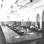 <p>Interior da Agência Santa Maria/RS na década de 40.</p>