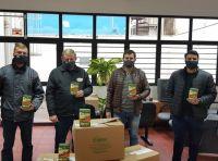 Agência de São Lourenço do Sul em parceria com a COOPAR realiza entrega do Programa Sementes Banrisul