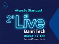 Banrisul promove live sobre o BanriTech nesta quinta-feira (04)